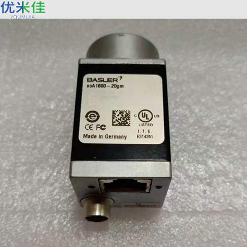 Basler工业相机acA1600-20gm二手工业相机九成新不含镜头现货