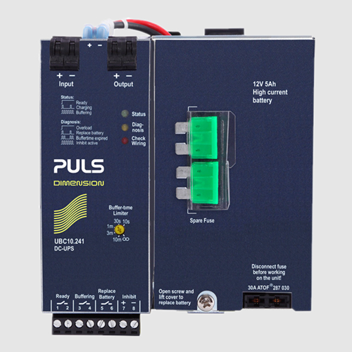 全新原装现货PULS普尔世电源UBC10.241 DC-UPS 24V 10A 240W